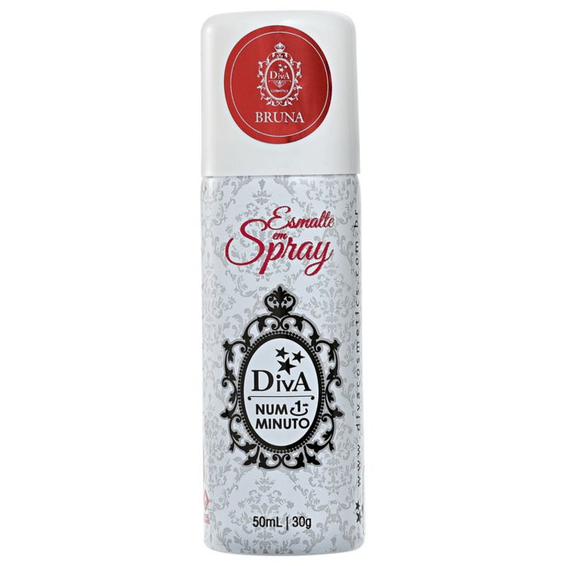 Diva Cosmetics Bruna - Esmalte em Spray Perolado 50ml