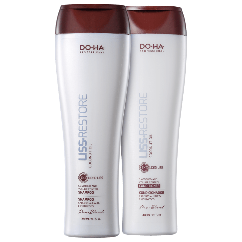 DO.HA Liss Restore Volume Controlado Kit (2 Produtos)