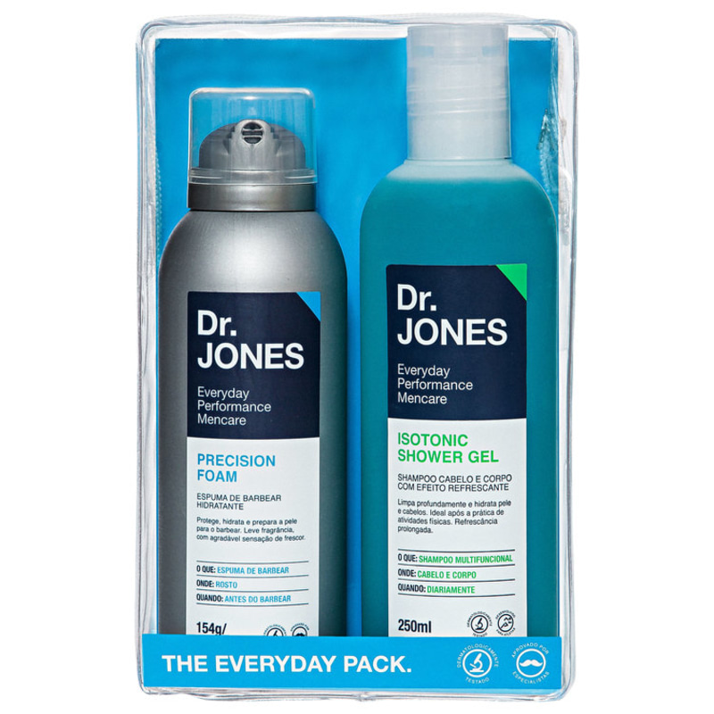 Kit Dr. Jones The Everyday Pack (2 produtos + Estojo)
