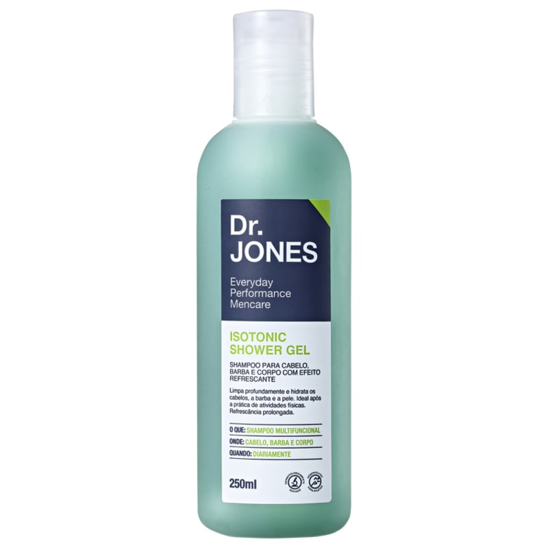 Dr. Jones Isotonic Shower Gel - Shampoo para Cabelo e Corpo 250ml