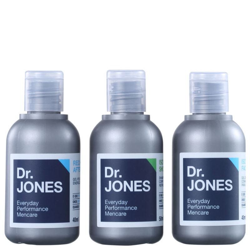 Kit Dr. Jones On The Go (3 produtos)