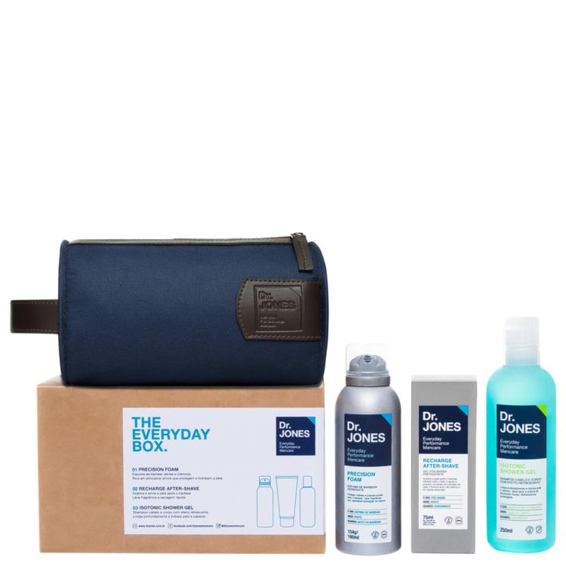 Kit Dr. Jones The Everyday Box (3 produtos + Nécessaire)