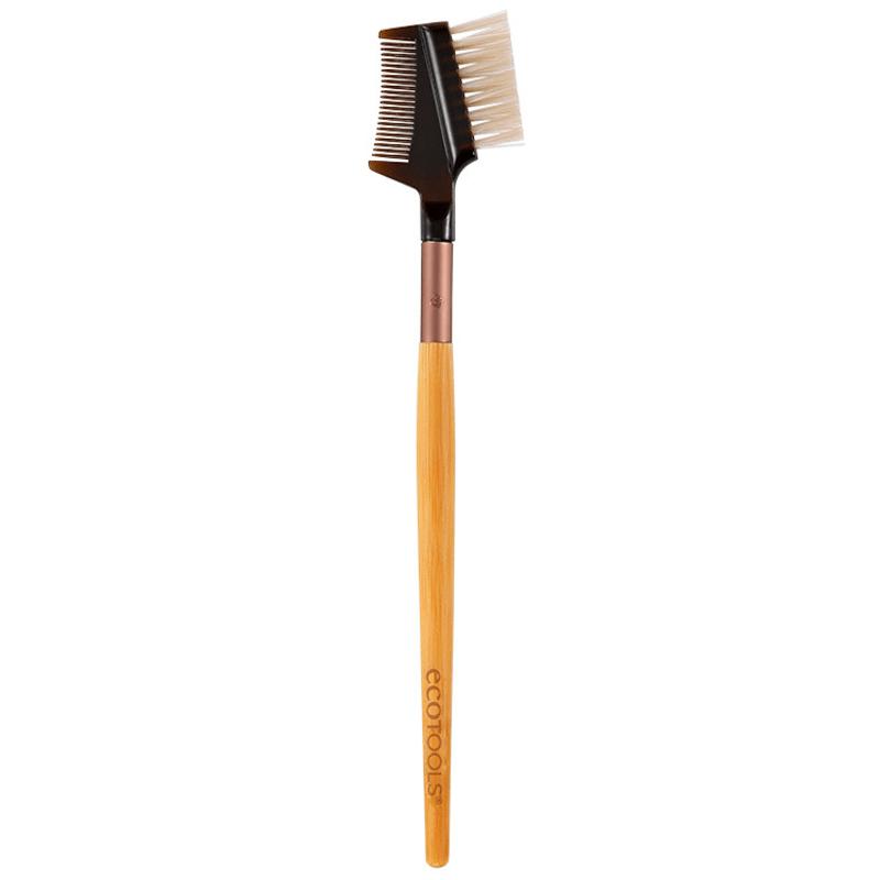 Ecotools Lash & Brow Duo - Pincel para Cílios e Sobrancelhas