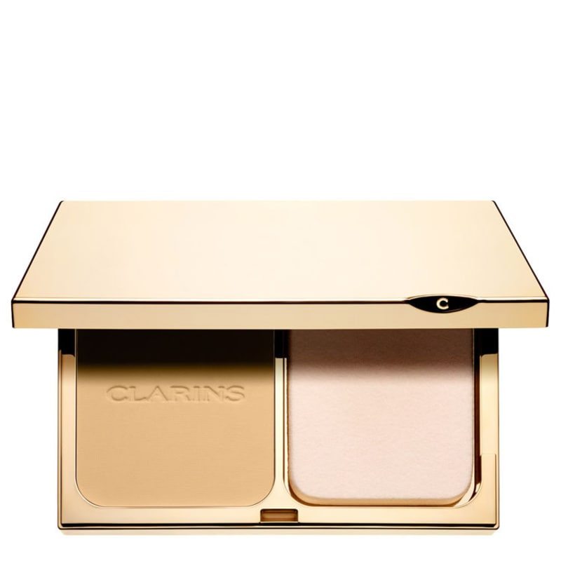 Clarins Everlasting Compact Foundation FPS 15 110 Honey - Base Compacta