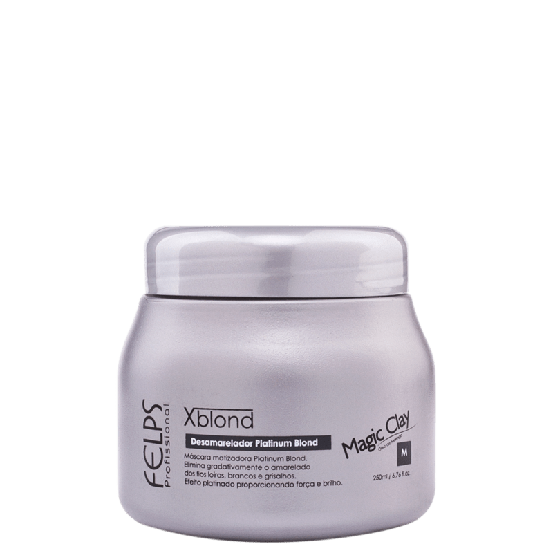Felps Profissional XBlond Magic Clay - Máscara de Tratamento 250ml
