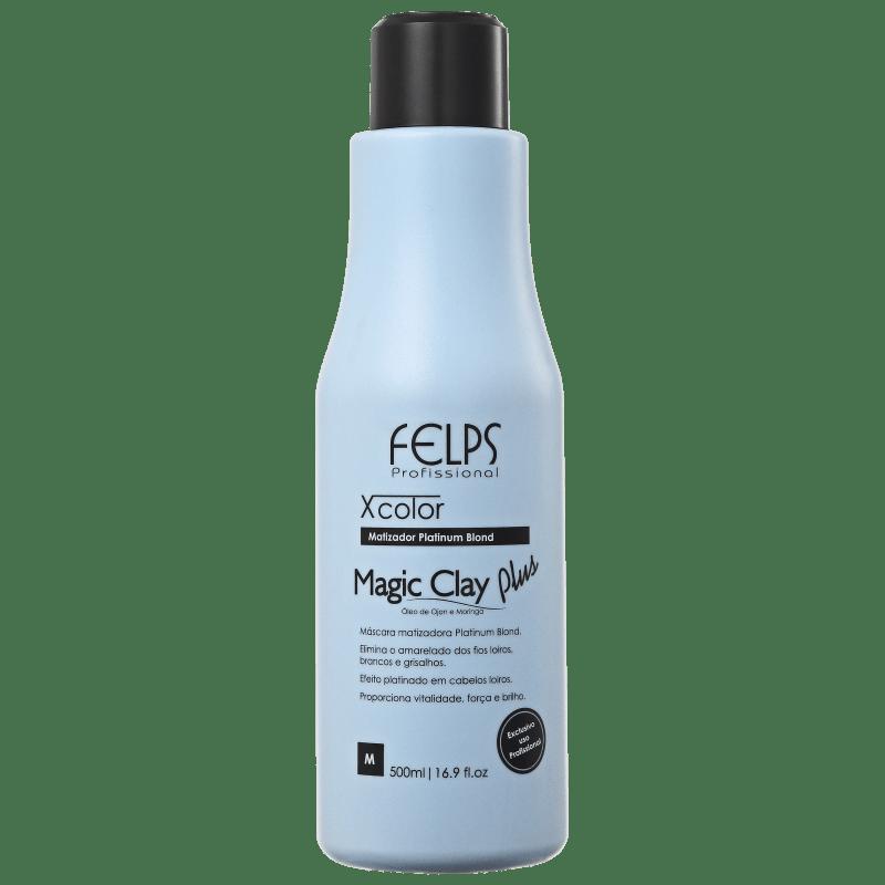 Felps Profissional XColor Magic Clay Plus - Máscara Matizadora 500ml