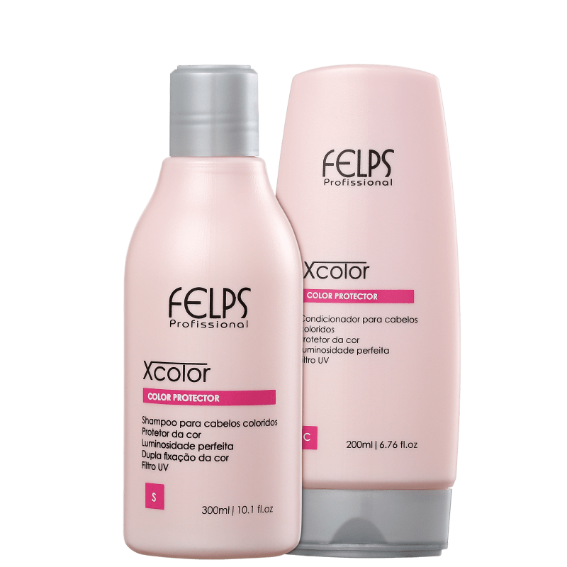 Kit Felps Profissional XColor Protector Duo (2 Produtos)