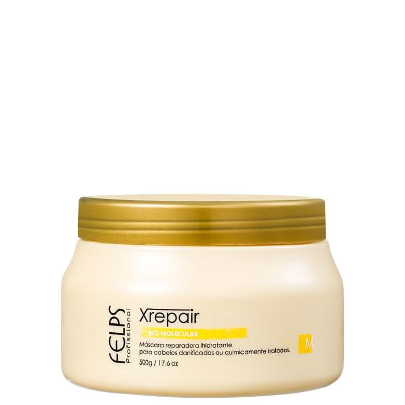 Felps Profissional XRepair Bio Molecular - Máscara de Tratamento 500g