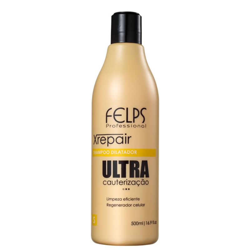 Felps Profissional XRepair Ultra Cauterização - Shampoo Antirresíduo 500ml