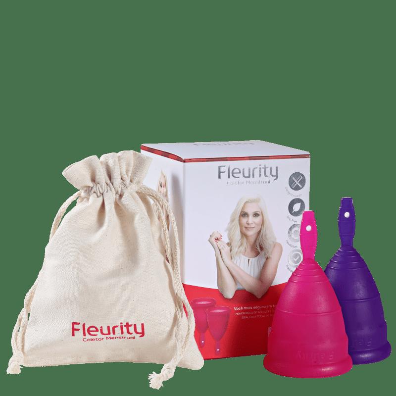 Fleurity Tipo 1 (+30 anos ou com filhos) - Coletor Menstrual (2 unidades)