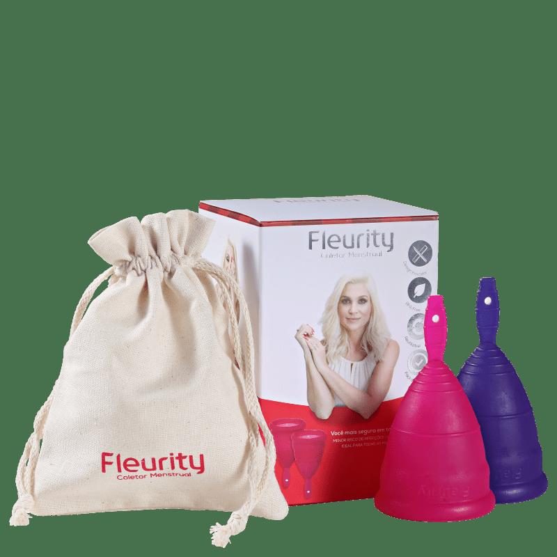Fleurity Tipo 2 (-30 anos ou sem filhos) - Coletor Menstrual (2 unidades)
