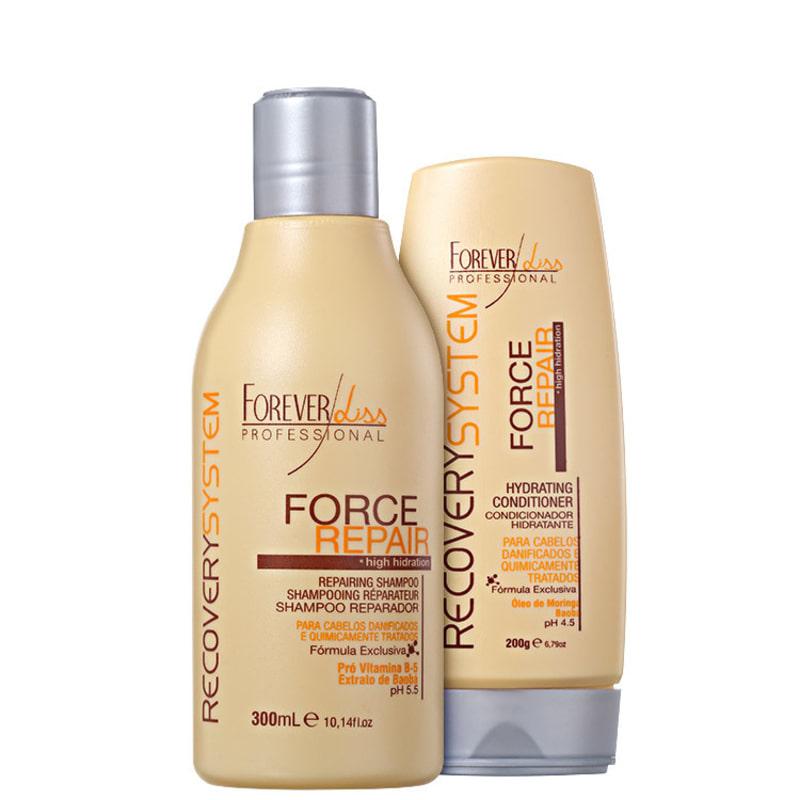 Forever Liss Professional Force Repair Duo Kit (2 Produtos)