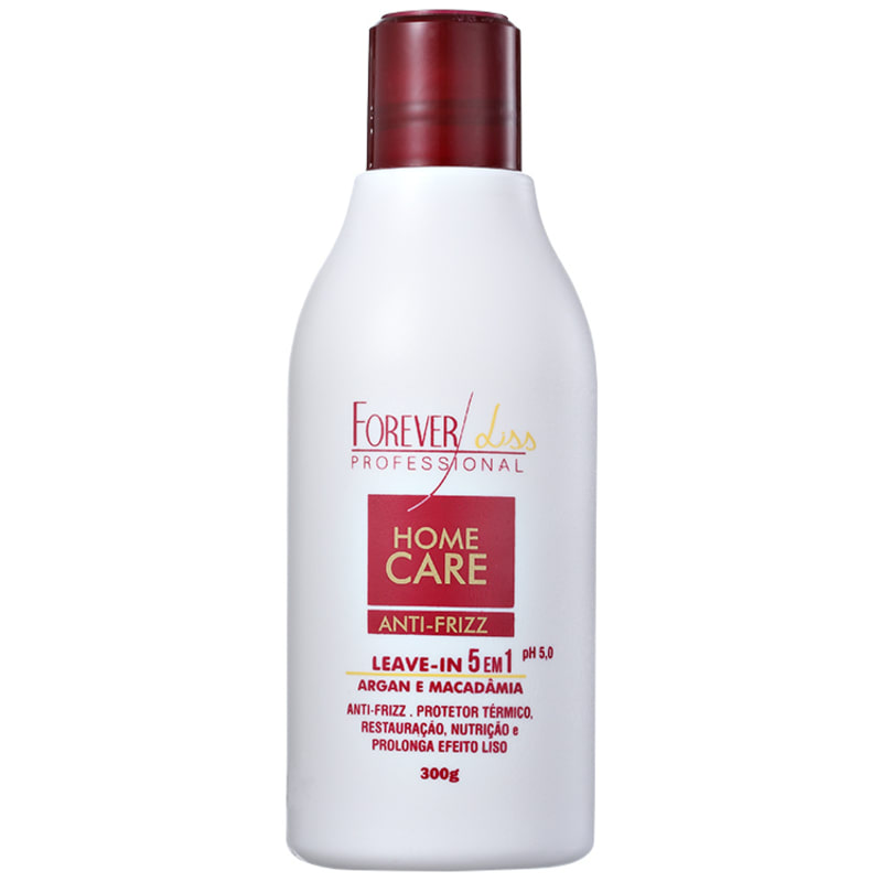 Forever Liss Professional Home Care Anti-Frizz 5 em 1 - Leave-in 300ml