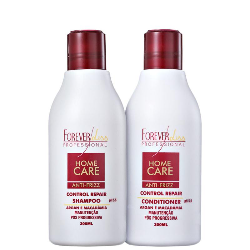 Forever Liss Professional Home Care Anti-Frizz Pós-Progressiva Kit (2 Produtos)