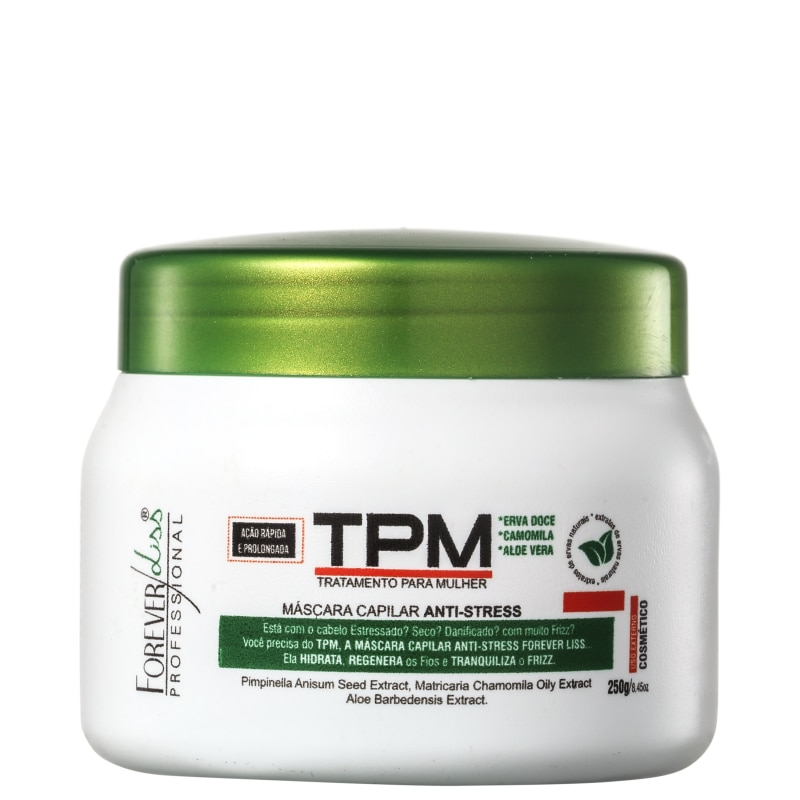 Forever Liss Professional TPM Anti-Stress - Máscara Capilar 250g