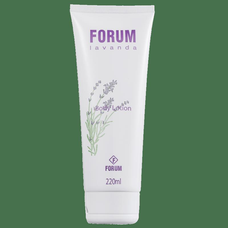 Forum Body Lotion Lavanda - Loção Hidratante Corporal 220ml