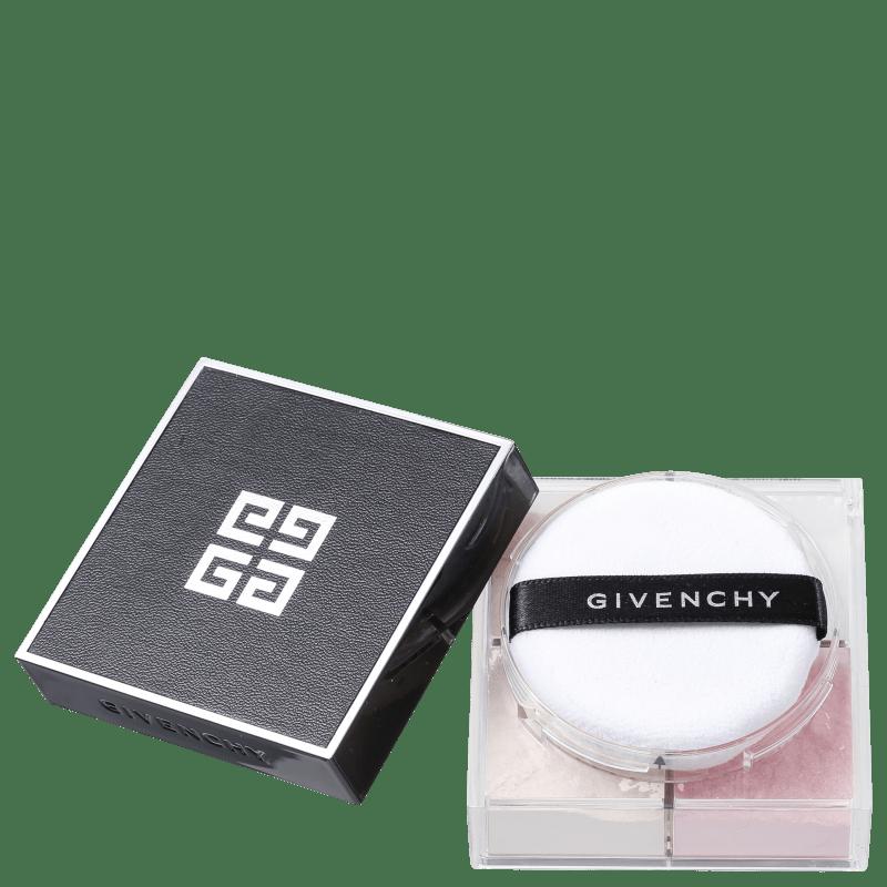 Givenchy Prisme Libre Poudre Libre Quartuor 7 Voile Rose - Pó Solto Luminoso 12g