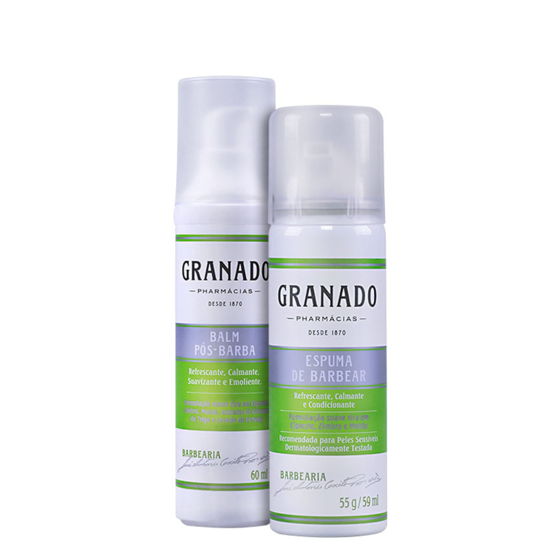 Kit Barba Granado Barbearia Duo Travel (2 produtos)