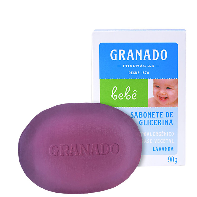 Granado Bebê Glicerina Lavanda - Sabonete em Barra 90g