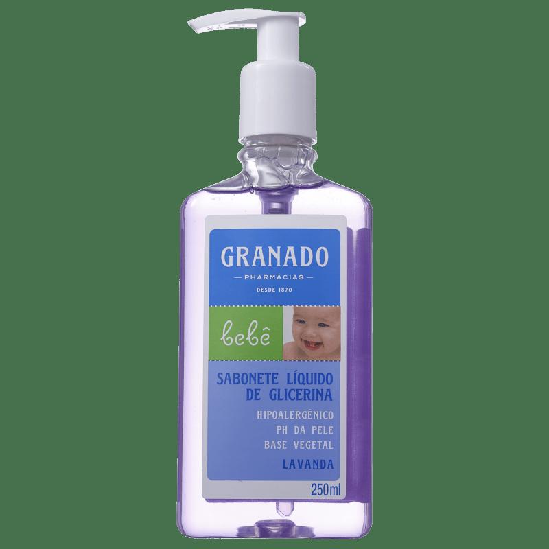 Granado Bebê Glicerina Lavanda - Sabonete Líquido 250ml