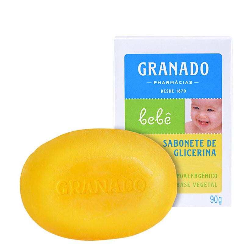 Granado Bebê Glicerina Tradicional - Sabonete em Barra 90g