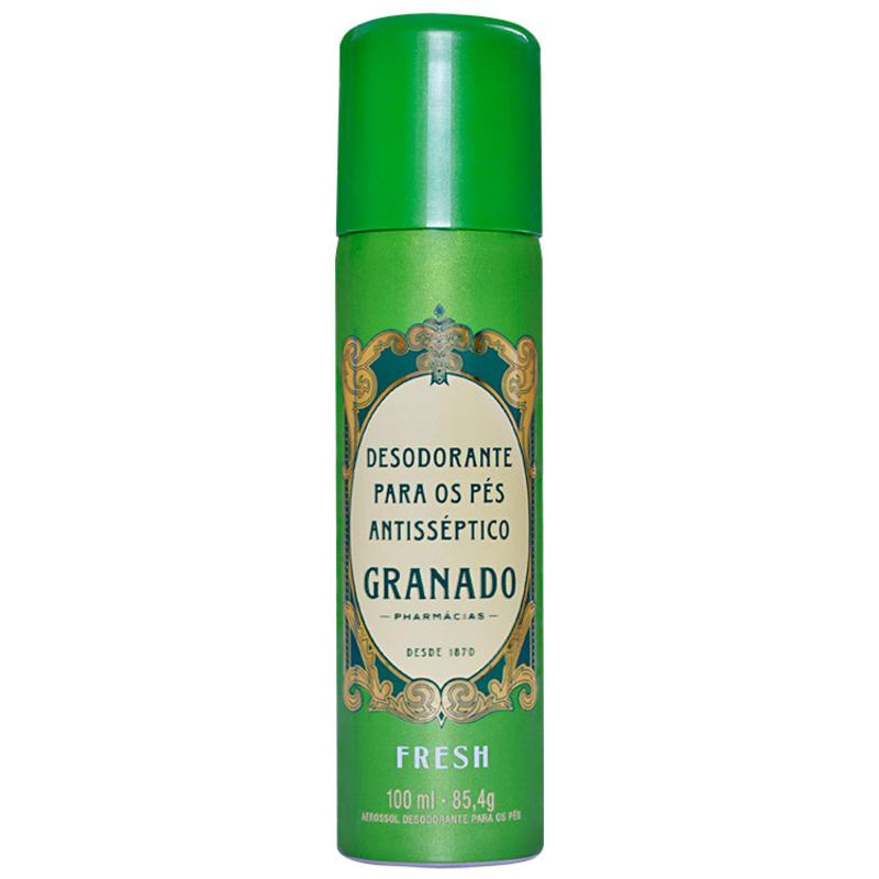 Granado Antisséptica Fresh Para Os Pés Antisséptico - Desodorante Spray 100ml