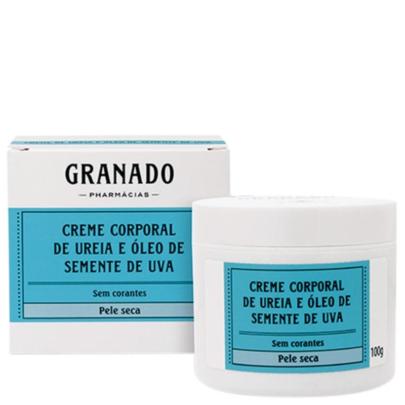 Granado Granaderma Uréia e Óleo de Semente de Uva - Creme Hidratante Corporal 100g