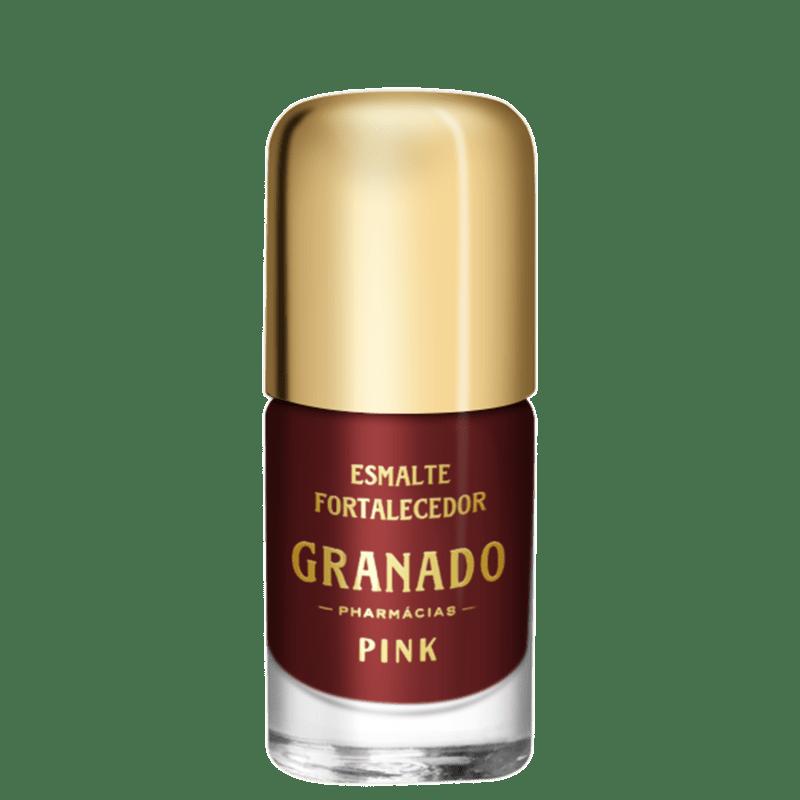 Granado Pink Fortalecedor Agatha - Esmalte Cremoso 10ml