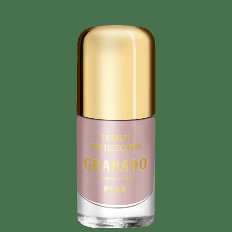 Granado Pink Fortalecedor Clara - Esmalte Perolado 10ml