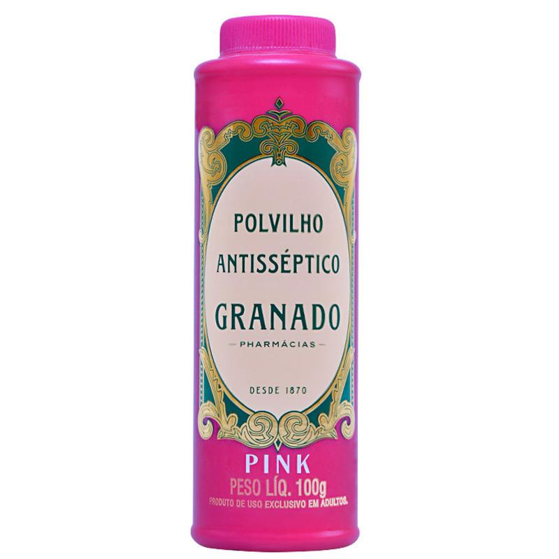 Granado Antisséptica Pink Polvilho Antisséptico - Talco 100g