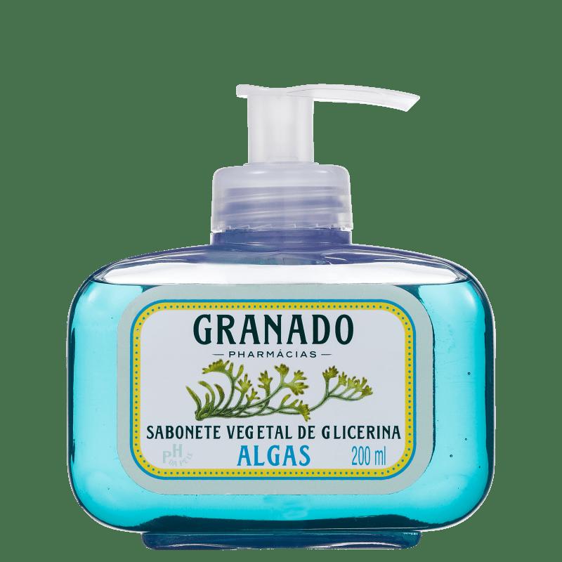 Granado Sabonete Vegetal de Glicerina e Algas - Sabonete Líquido 200ml