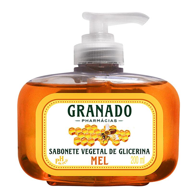 Granado Sabonete Vegetal de Glicerina e Mel - Sabonete Líquido 200ml