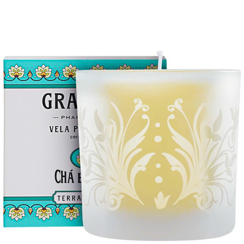 Granado Terrapeutics Chá Branco - Vela Perfumada 180g