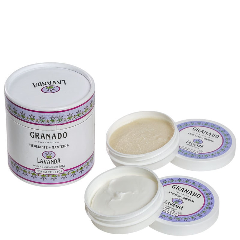 Kit Granado Terrapeutics Lavanda - Esfoliante 60g + Hidratante 60g