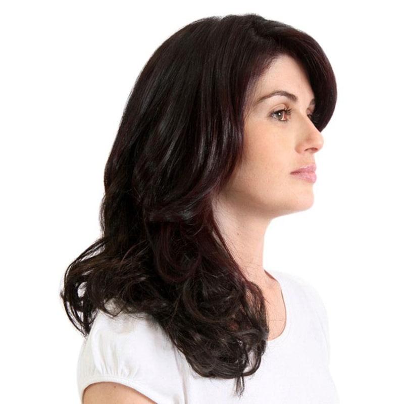 Hairdo Ondulado - Castanho Super Escuro 45 Cm