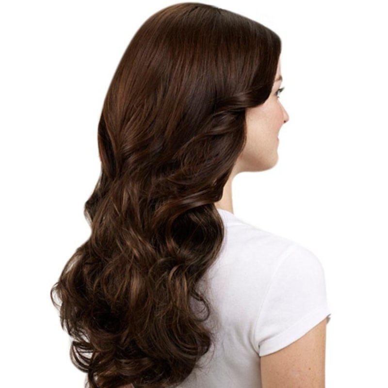 Hairdo Chocolate Com Mechas Cobre - Aplique Ondulado 58cm