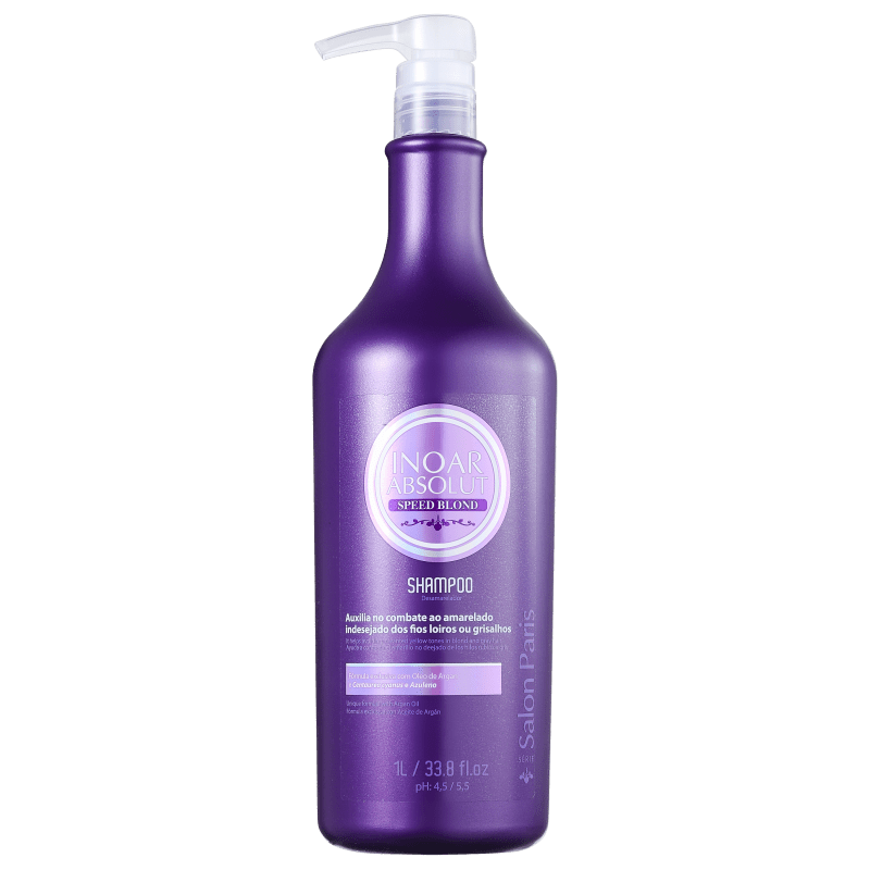 Inoar Absolut Speed Blond - Shampoo 1000ml