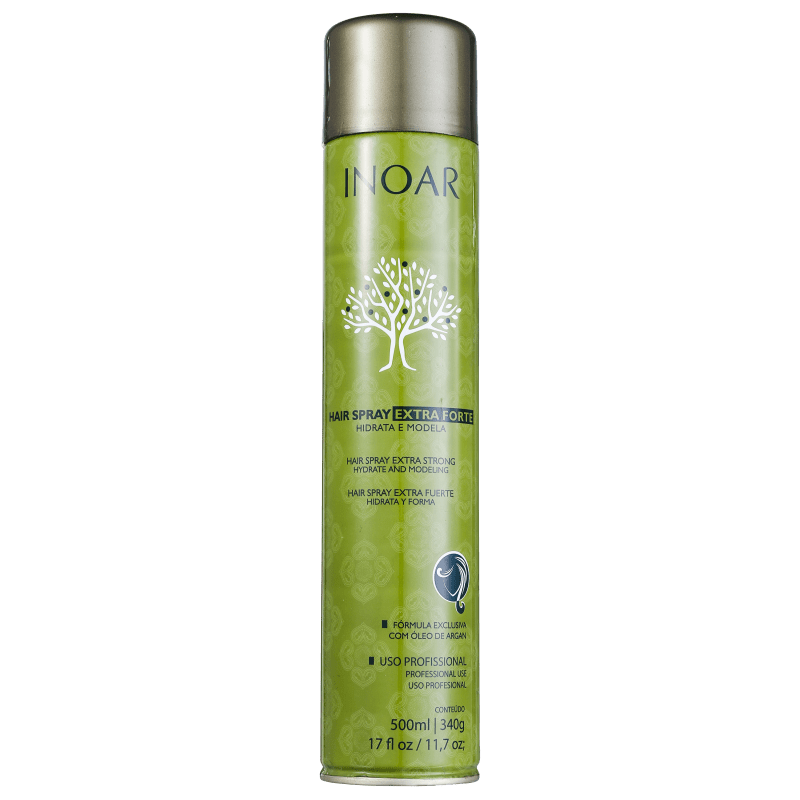 Inoar Argan Oil Hair Spray Extra Forte - 500ml