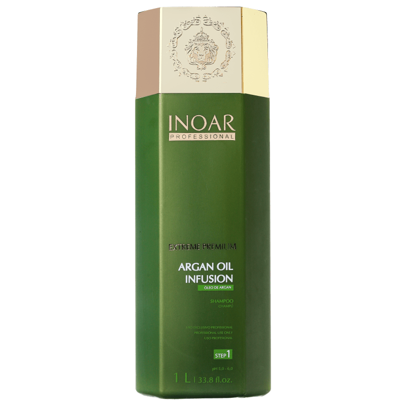Inoar Argan Oil Infusion Shampoo Step 1 - Shampoo 1000ml