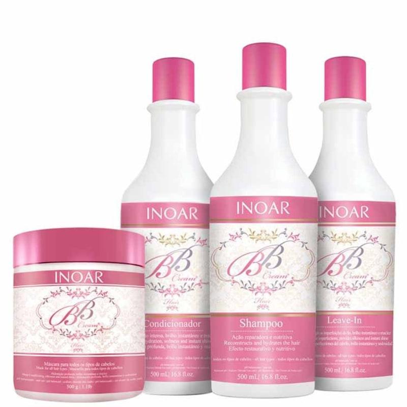 Inoar BB Cream Hair Intense Kit (4 Produtos)
