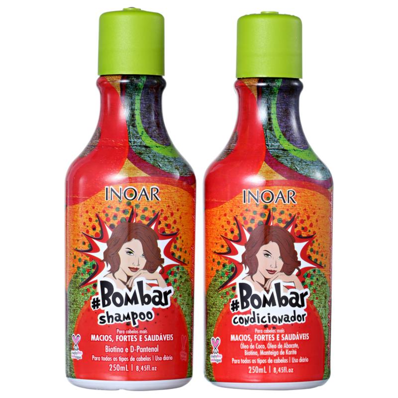 Inoar Bombar Fios Saudáveis Kit (2 Produtos)