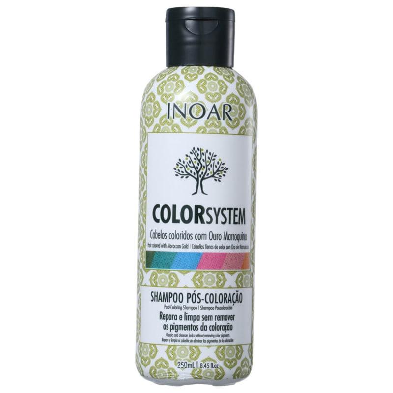 Inoar Color System Pós-Coloração - Shampoo 250ml