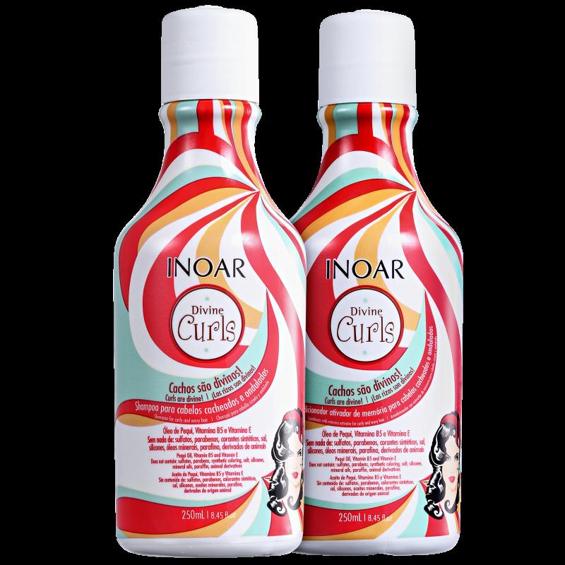 Kit Duo Divine Curls (shampoo e condicionador)