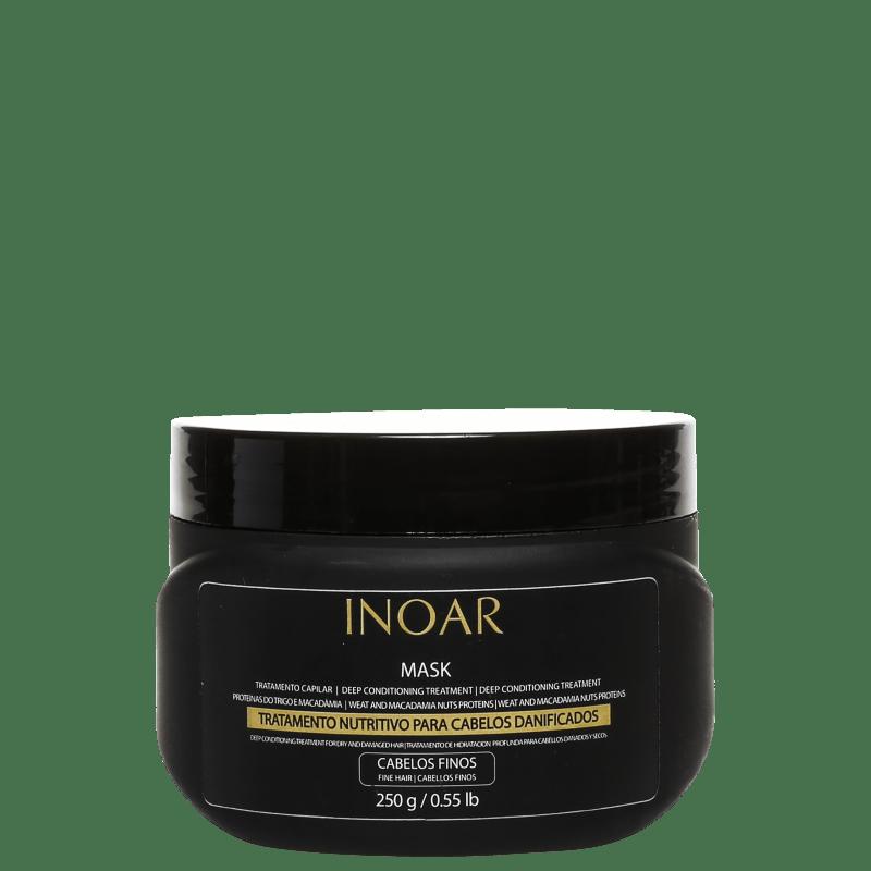 Inoar Mask Home Care Cabelos Finos - Tratamento 250g