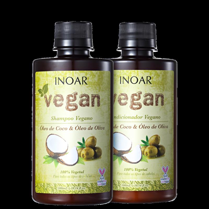 Inoar Vegan Cuidado Diário Kit (2 Produtos)