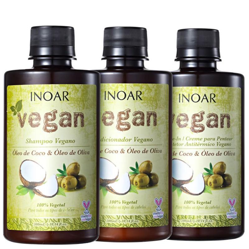 Inoar Vegan Proteção Diária Kit (3 Produtos)