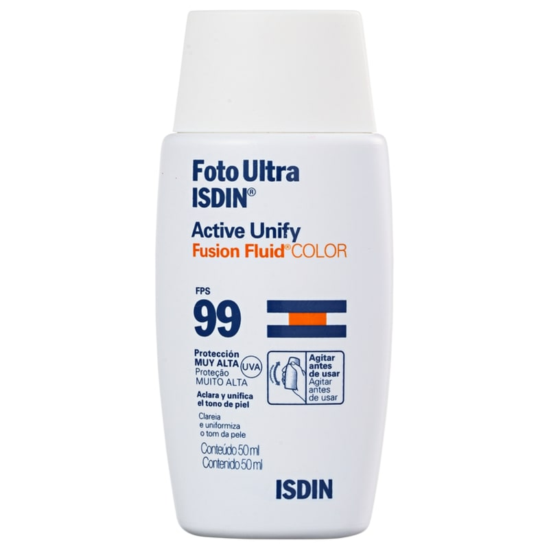 ISDIN Foto Ultra Active Unify Fusion Fluid Color FPS 99 - Antimanchas 50ml