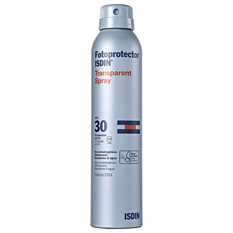 ISDIN Fotoprotector Transparent FPS 30 - Protetor Solar em Spray 200ml