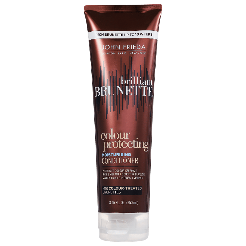 John Frieda Brilliant Brunette Colour Protecting Moisturising Conditioner - Condicionador 250ml