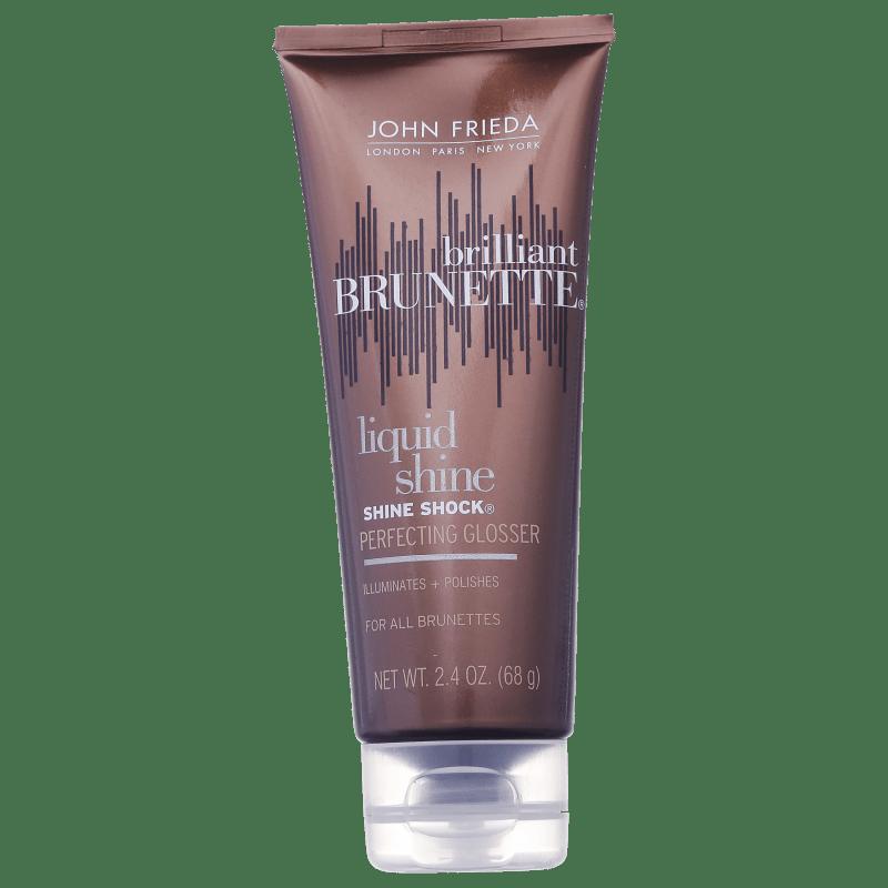 John Frieda Brilliant Brunette Shine Shock Leave-On Perfecting Glosser - Finalizador 68g